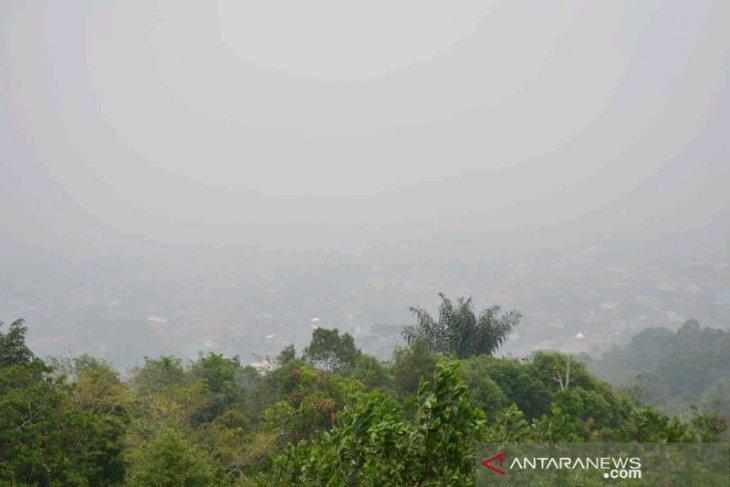 Sepekan, kabut asap juga menyelimuti Kota Padangsidimpuan