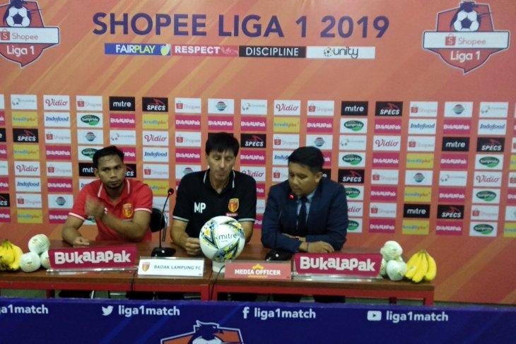 Meski bermain imbang 2-2 lawan PS Tira Perseru, Badak Lampung naik peringkat
