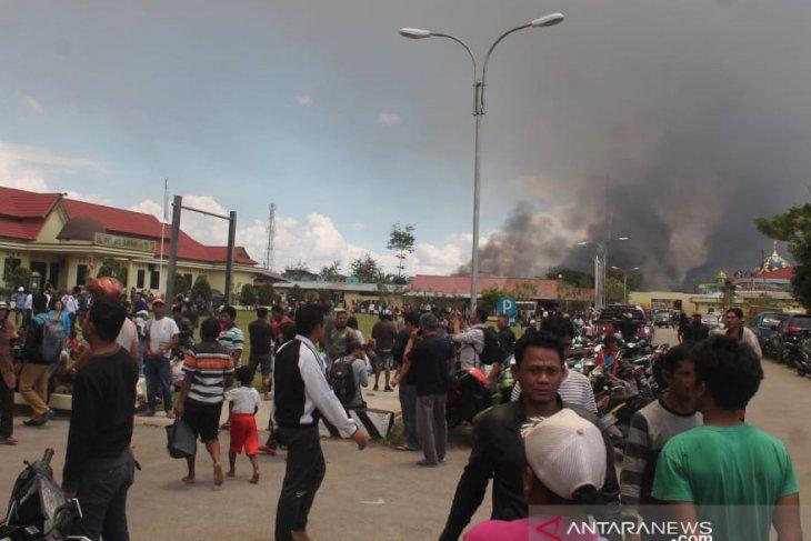 Papua Terkini - Di Wamena, korban tewas  jadi 23 orang