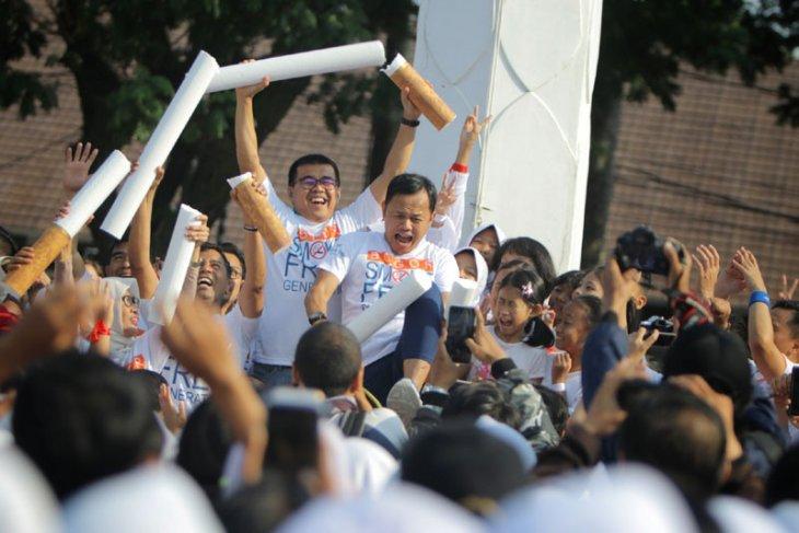 Ribuan pelajar di Kota Bogor deklarasikan