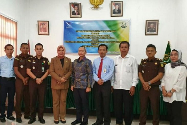 PDAM Tirtanadi-Kejari Belawan MoU kerjasama bantuan hukum