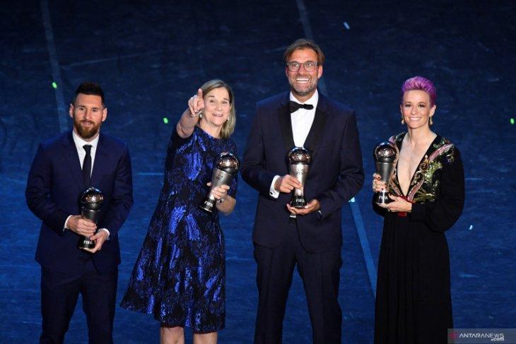 Daftar lengkap peraih penghargaan terbaik FIFA