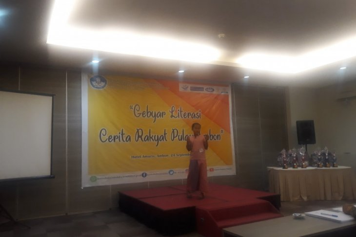 Kantor bahasa Maluku hidupkan cerita rakyat pulau Ambon