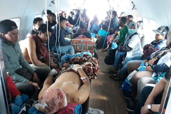 23 korban demo Wamena dirujuk ke Jayapura
