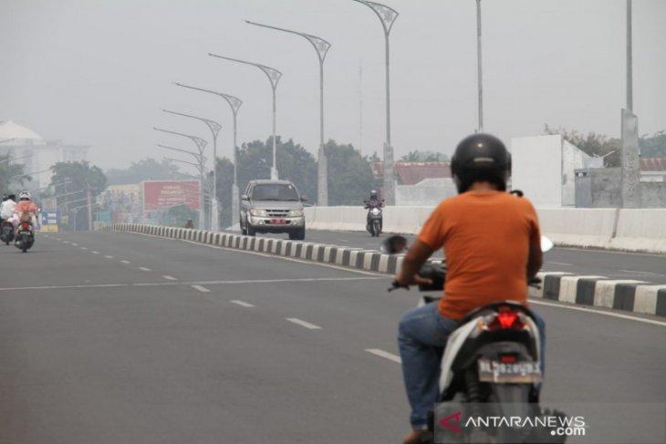 Kabut asap mulai berkurang di  Aceh
