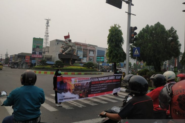 ACT Sumut galang dana untuk  bencana asap Riau dan Kalimantan