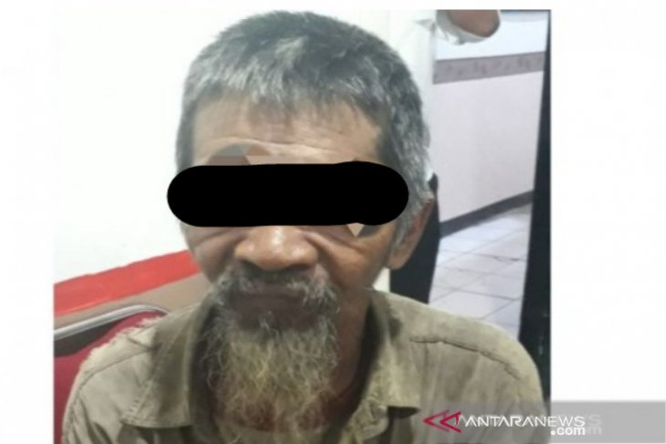 Seorang kekek ditetapkan sebagai tersangka karhutla oleh Polres HST