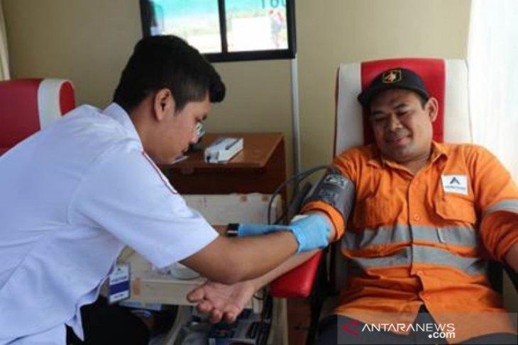 Gelar donor darah, PT Agincourt Resources kumpul 257 kantong