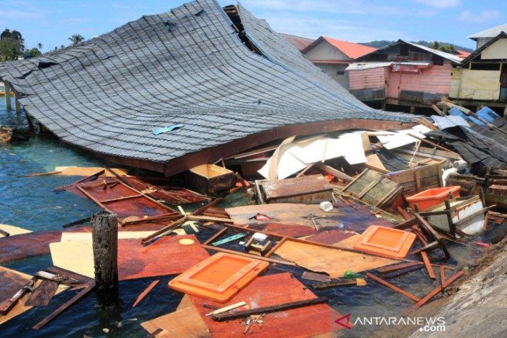 BMKG: 235 gempa susulan terjadi di Ambon