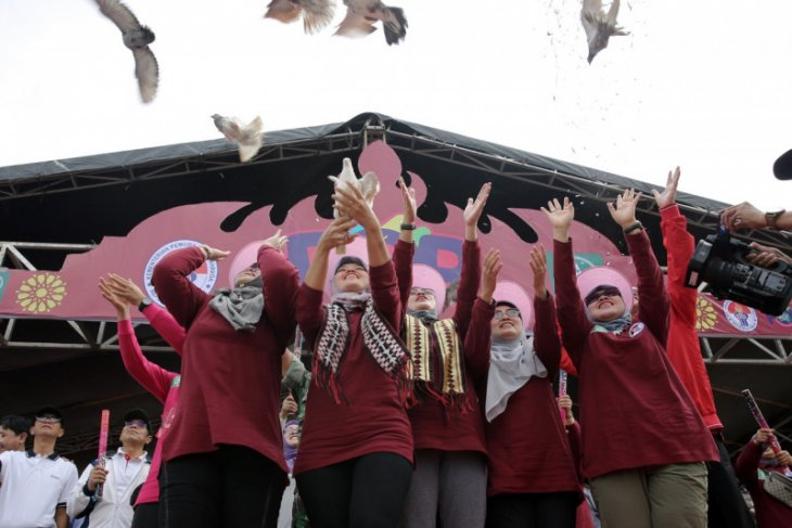 Wagub Lampung membuka Pekan Olahraga Perempuan