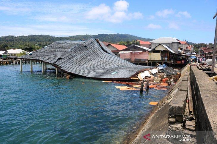 Gempa Ambon sebabkan empat warga meninggal, termasuk balita