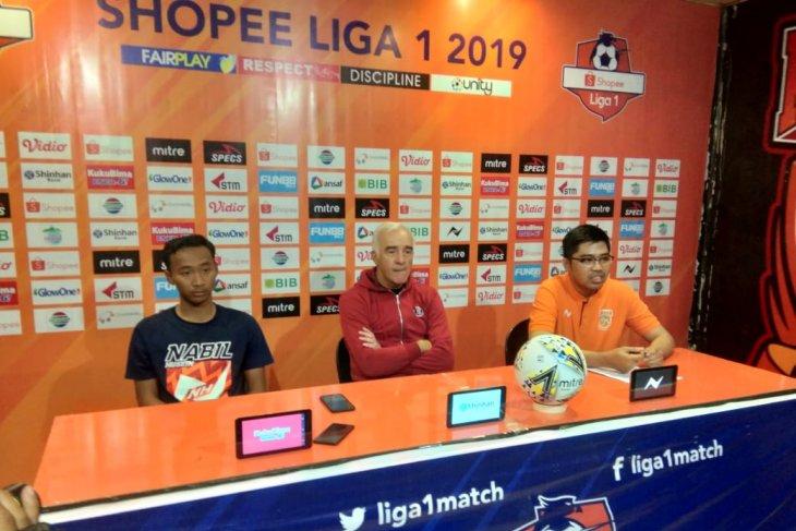 Mario Gomez bersyukur Borneo raih kemenangan lawann Persija
