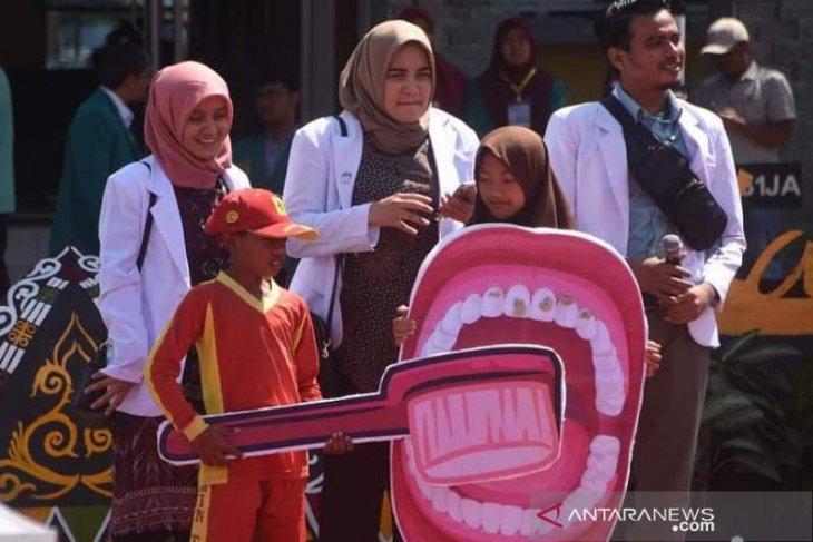 FKG Unsyiah gelar penyuluhan kesehatan gigi dan mulut di Bener Meriah