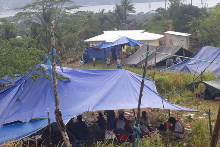 Kisah tsunami 8 Oktober 1950 memicu warga Hutumuri mengungsi saat gempa