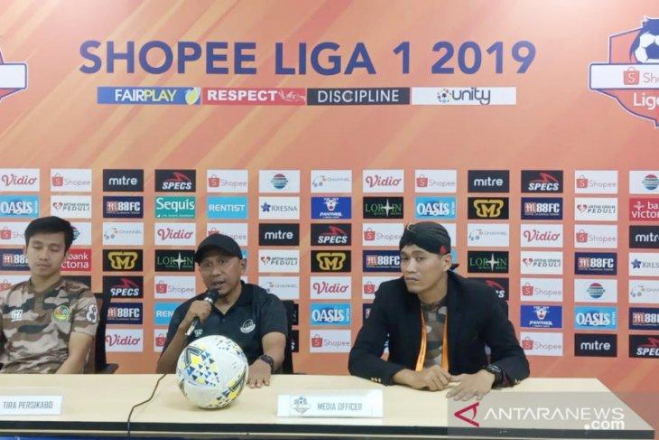 Tira Persikabo-Semen Padang berakhir imbang 1-1