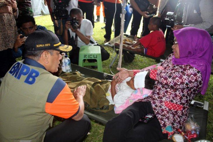Kepala BNPB  warga tidak terdampak gempa kembali ke rumah