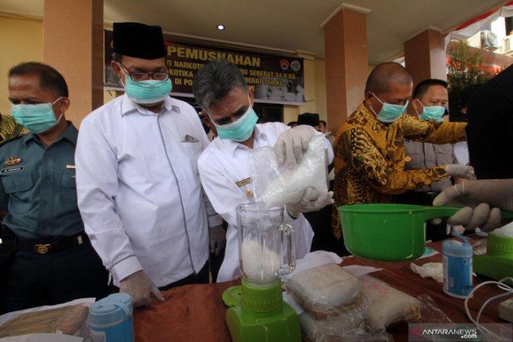 Empat terdakwa narkoba 53 kg dituntut hukuman mati