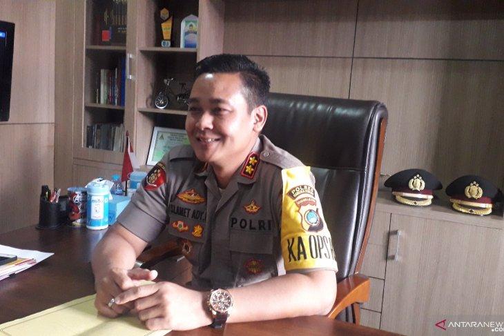 Polres Bangka Tengah dirikan dua posko darurat Karhutla
