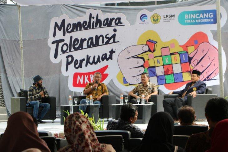 Di Unej, Kominfo paparkan dilema medsos dalam menjaga toleransi Indonesia