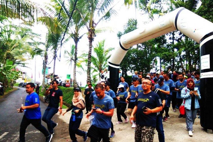Pertamina EP Asset-4 adakan lari sehat di Ubud