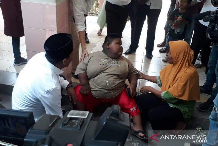 Bocah obesitas di Karawang akhirnya meninggal