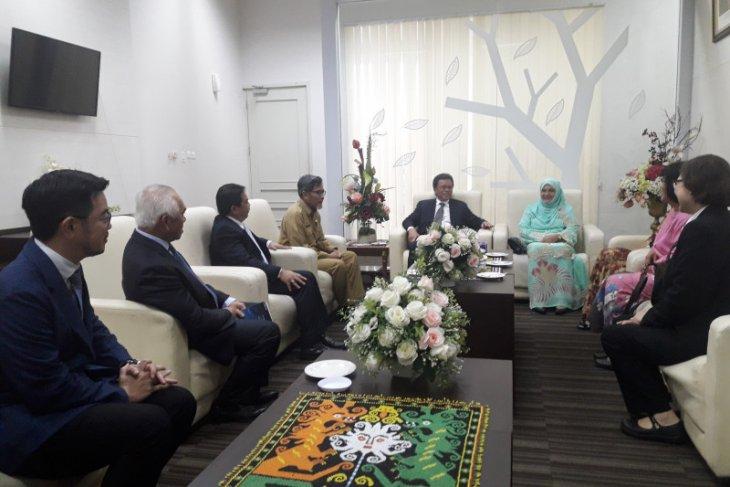 Jauhar Sambut Kedatangan YAB Menteri Sabah