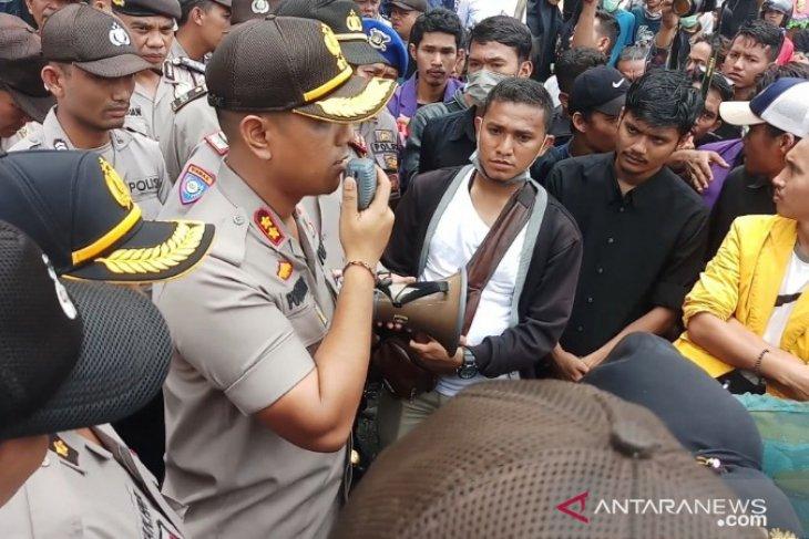 Kapolres Tanjungbalai apresiasi unjukrasa tanpa anarkis