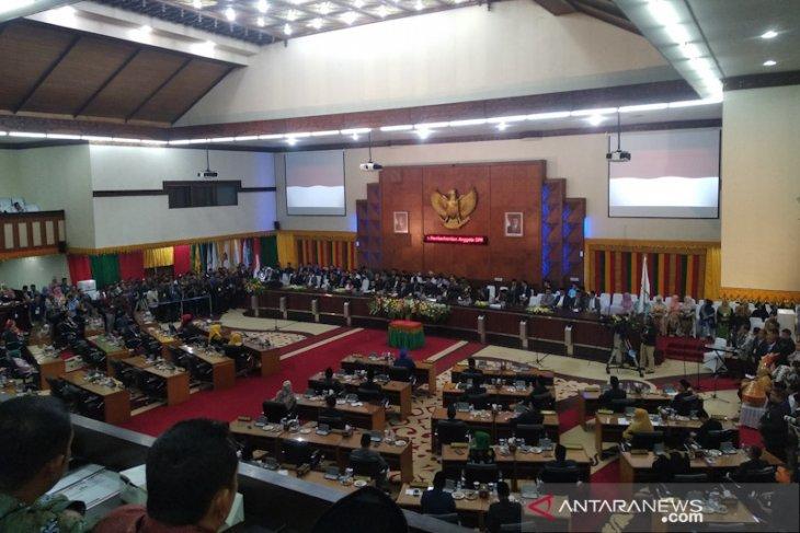 Pengamanan pelantikan Anggota DPR Aceh berlangsung  ketat