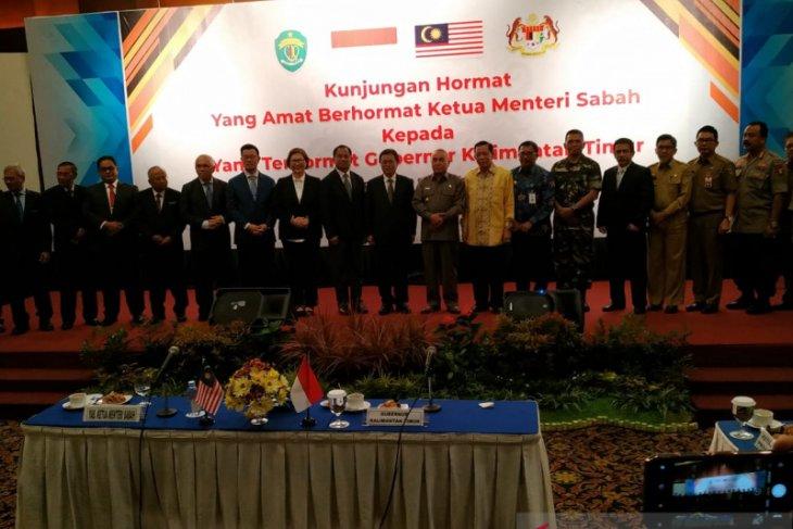 Ketua Menteri Sabah Malaysia kunjungi Kaltim