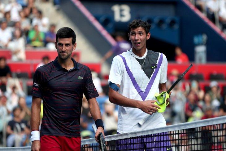 Djokovic awali debutnya di babak pertama Japan Open  dengan mulus
