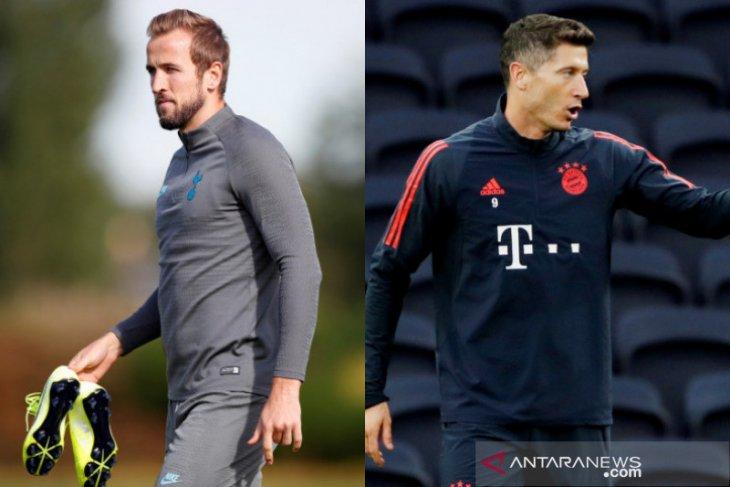 Jadwal Liga Champions malam ini: Tottenham jamu Bayern, Juve  vs Bayer