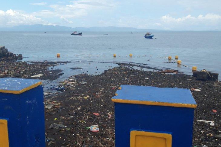 PUPR Ternate bangun resapan air antisipasi tumpukkan sampah terbawa ke laut