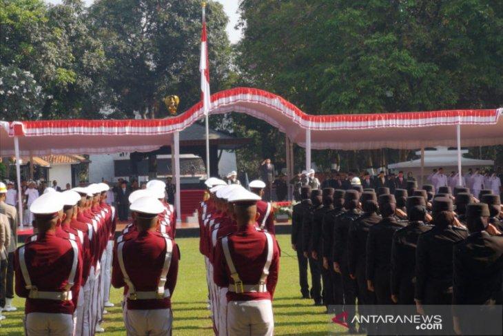 Presiden inspektur upacara peringatan Hari Kesaktian Pancasila