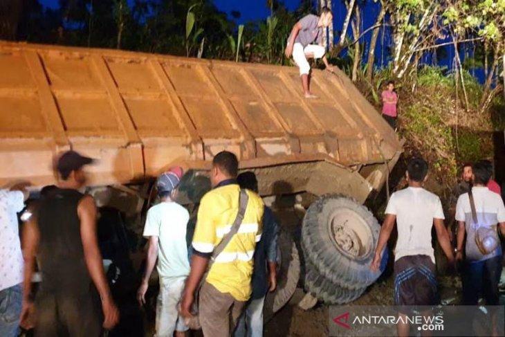 Sopir tewas tertimpa dump truk di Aceh Utara, berawal dari rem blong