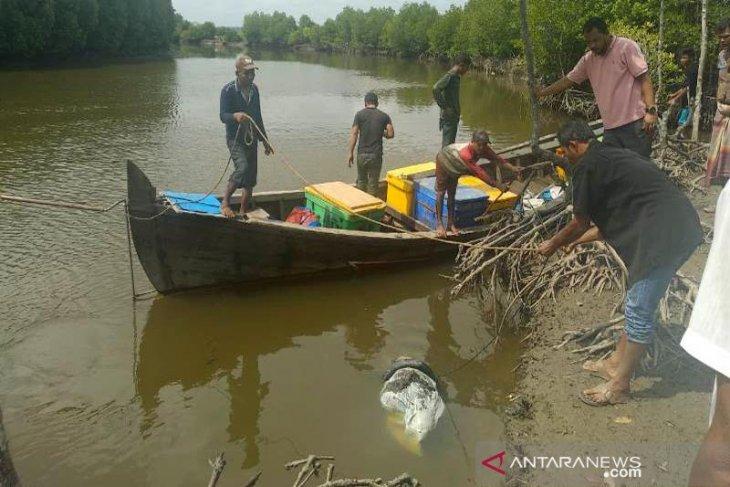Warga temukan goni berisi mayat di sungai Aceh Timur