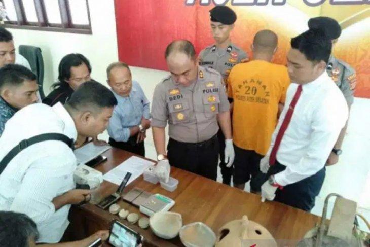 Polisi ringkus penambang emas liar di Aceh Selatan