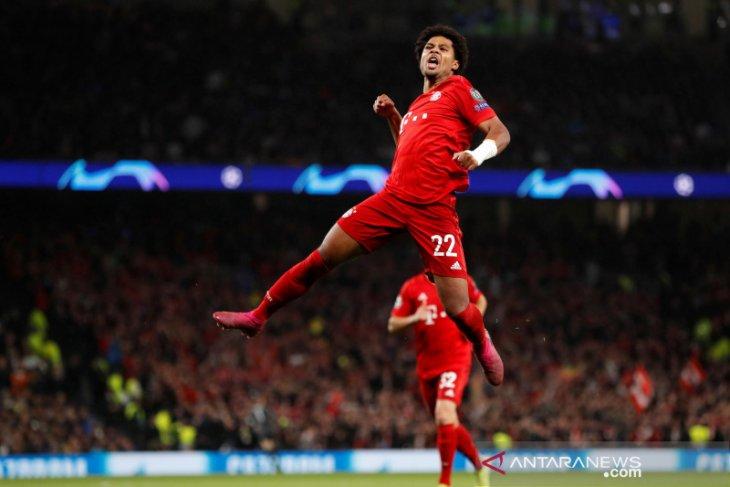 Liga Champions: Bayern lumat Tottenham 7-2