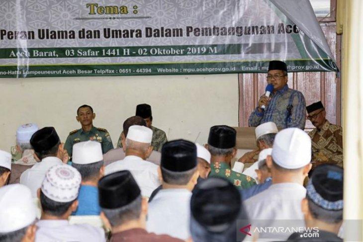 Bupati Aceh Barat: Ulama harus beri masukan untuk  pemerintah