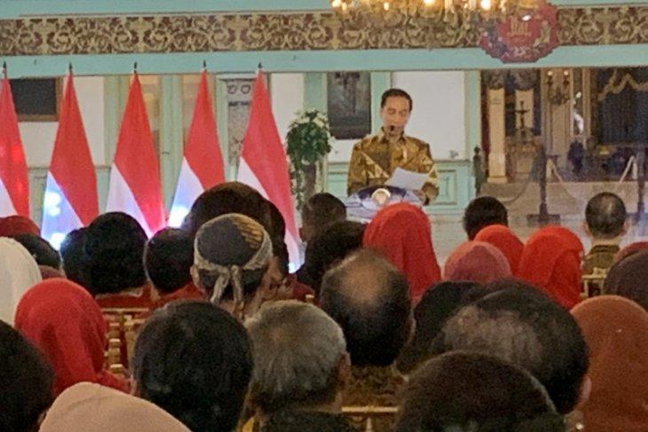 Presiden: UNESCO mulai evaluasi pengakuannya pada batik