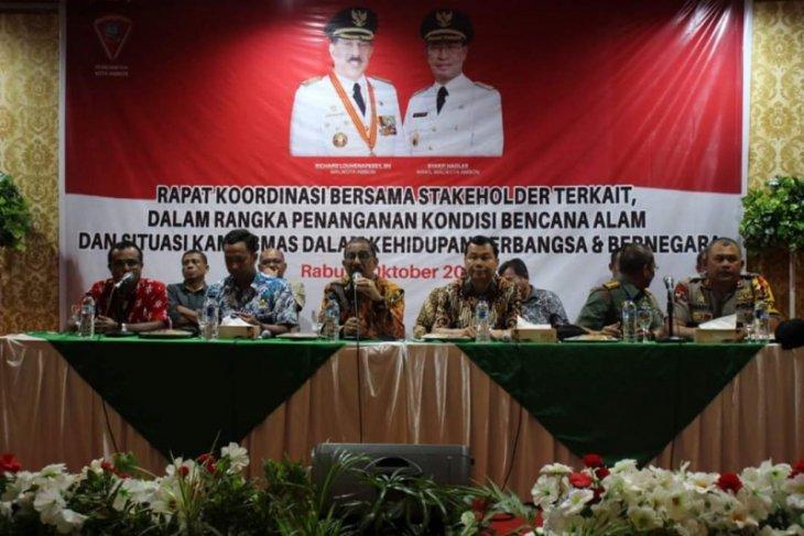 Pemkot Ambon imbau RT/RW ajak masyarakat kembali ke rumah