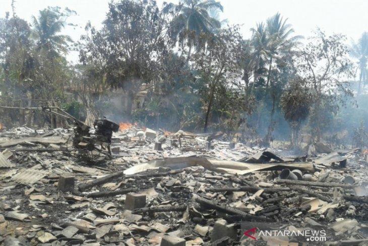 Kebakaran rumah di Sukabumi tewaskan seorang penghuni