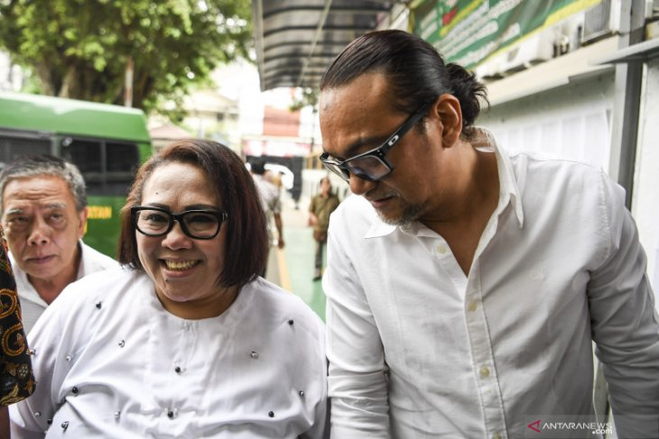 Komedian Nunung lebih ikhlas hadapi kasusnya