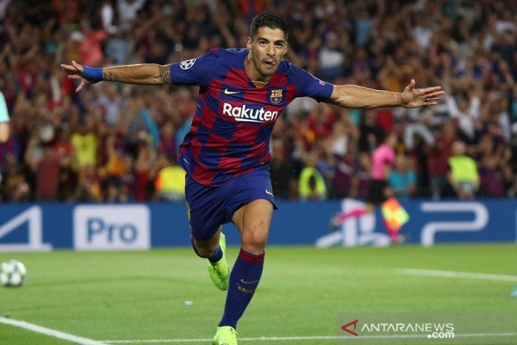 Suarez antar Barcelona balik  kalahkan Inter 2-1