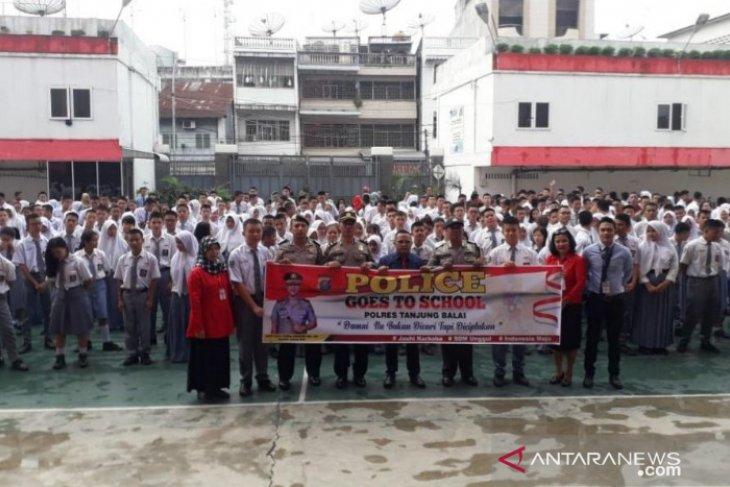 Polres Tanjungbalai gelar PGTS cegah pelajar demonstrasi