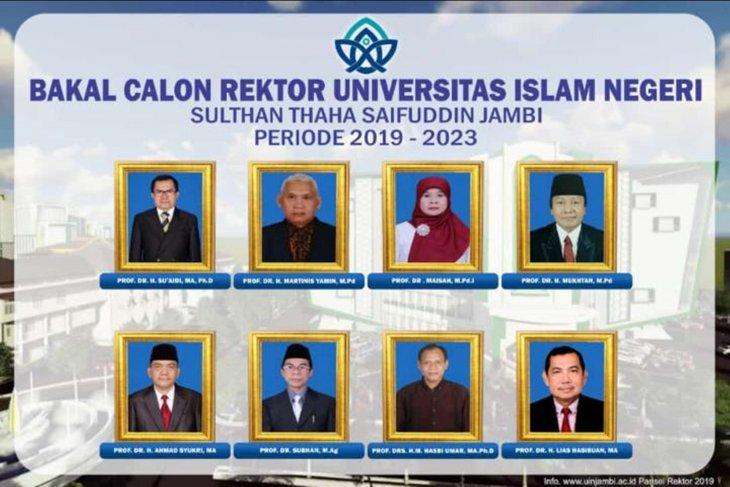 UIN Jambi kirimkan delapan nama calon rektor ke Kementerian Agama