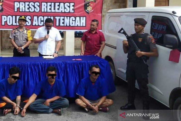 Pencuri mobil diringkus di Aceh Tengah