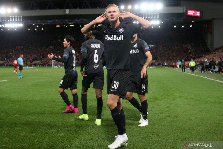 Juventus dan Napoli dikabarkan berebut Erling Haaland