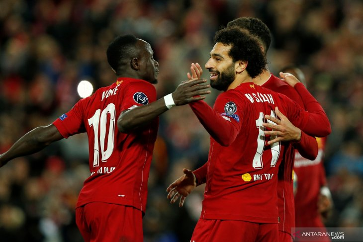 Liverpool susah payah kalahkan Salzburg 4-3 di Anfield