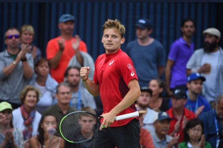 Petenis David Goffin capai perempat final Japan Open