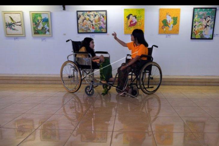 Festival kesenian penyandang disabilitas Bali